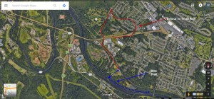 Cub Scout Bike Hike Map